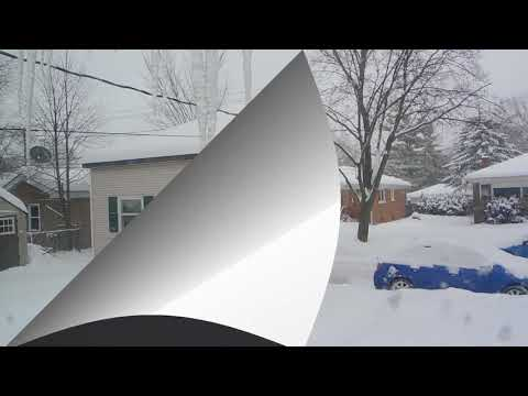 SNOW WINTER in DES PLAINES, IL  02/11/2018