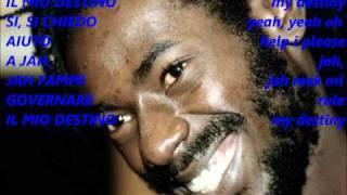 buju banton - destiny traduzione in italiano e lyrics