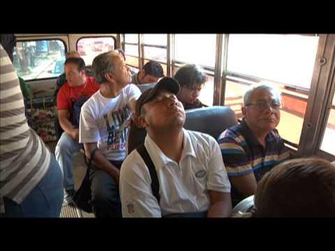 Viajar en bus en la ciudad de Guatemala