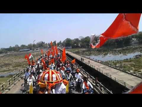 Ram navami mandla 2016 bhavya raily