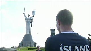 Культурная программа сборной Исландии в Киеве