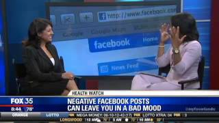 Effect of Facebook on our minds. Dr. Romie on Good Day Orlando FOX 35 News Orlando
