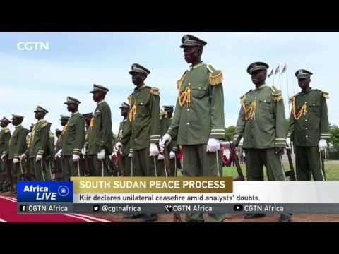 President Kiir declares unilateral ceasefire amid analysts' doubts
