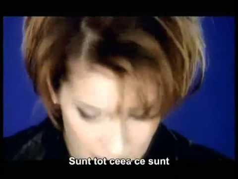 Celine Dion Because You Love Me Subtitrare Romana Mp4 Youtube