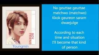 [MP3/DL] Boyfriend 보이프렌드 - Love Style Lyrics & Translation