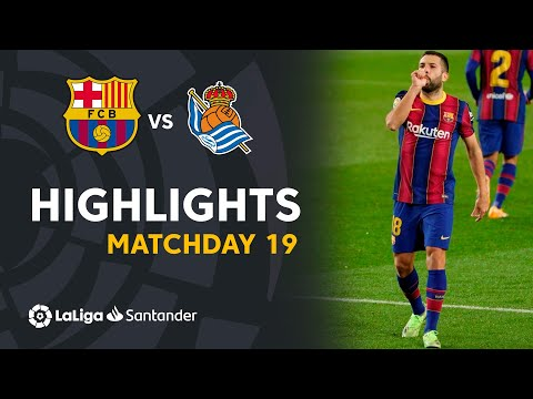 Barcelona Real Sociedad Goals And Highlights