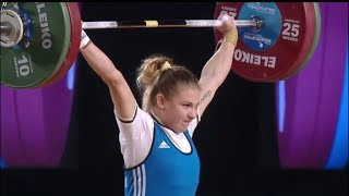 WOMEN 53kg A  SNATCH / 2017 WEIGHTLIFTING WORLD CHAMPIONSHIPS