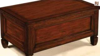 Trunk Cocktail Table Hidden Treasures T73490-00 By Hammary Furniture
