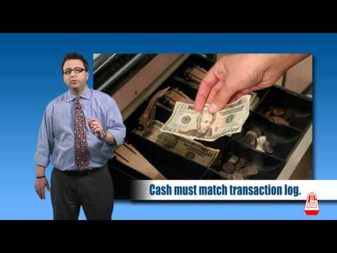AWG - Cashier Training Part 3 Demo (2010)