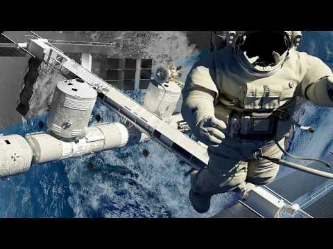Как выглядит космическая станция