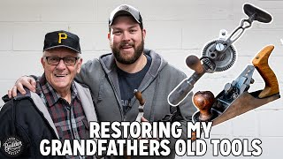 Removing Rust From Grandpas Old Tools!