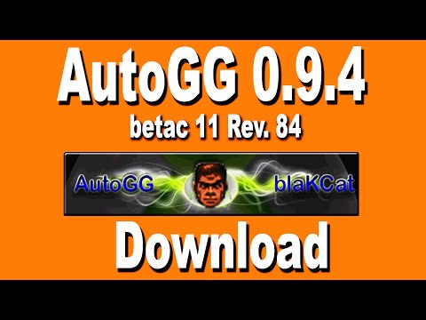 AutoGG 0.9.4 _ betac 11 Rev. 84 - Download -RGH