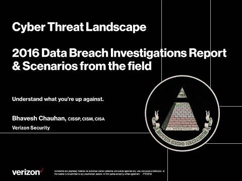CSS2016D2S7: 2016 Verizon Data Breach Investigation Report