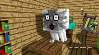 Школа Монстров  Minecraft анимация    Урок Химии