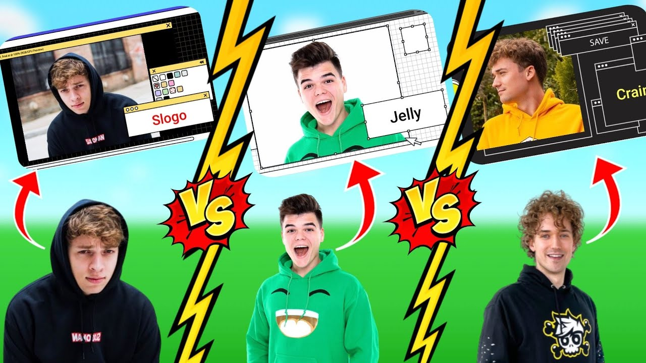 Jelly vs Slogo vs Crainer's editor!