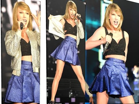 Taylor Swift Showing Her Sexy Legs