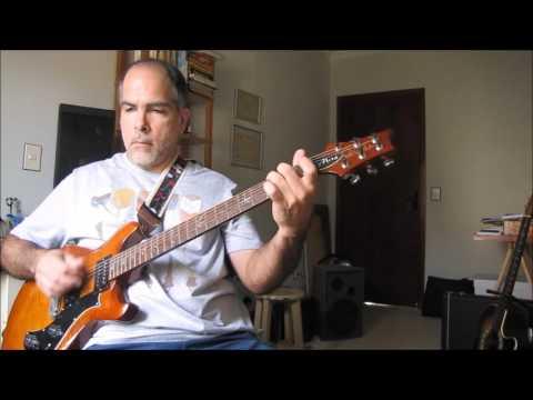 [GUITAR IMPROVISATION AFRICAN-STYLE] Marcel Leal, improvisação inspirada em música africana