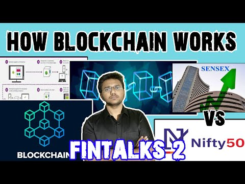 HOW BLOCKCHAIN WORKS  ? | What is SENSEX And Nifty50 ? | What is INDEX ?
