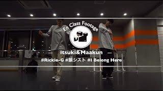 "itsuki&Maakun ""I Belong Here feat. 韻シスト / Rickie-G""@En Dance Studio SHIBUYA SCRAMBLE"