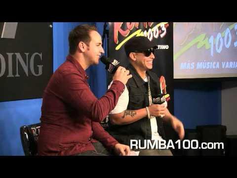 Gaby Calderon - LO MEJOR EN RUMBA: Daddy Yankee en Rumba 100.3 con Gaby