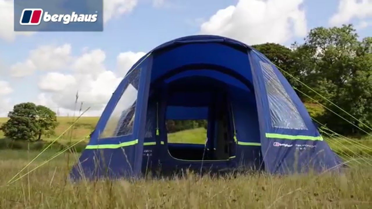 db7858f67f1 The Berghaus Air 4 Family Tent - YouTube