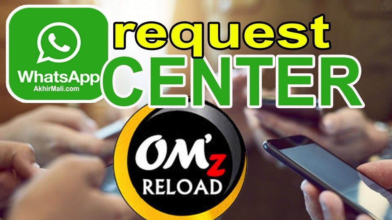 Whatsapp Center dan SMS Center Om'z Reload Server Pulsa ...