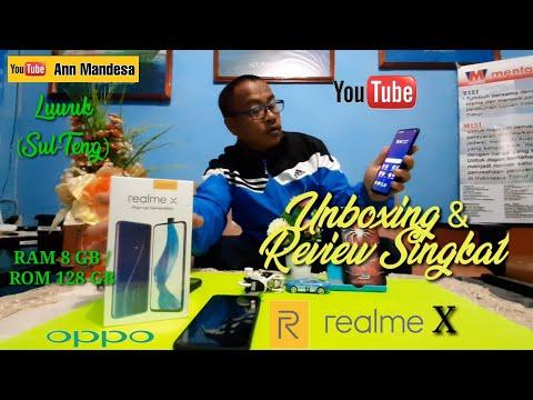 Unboxing Realme X, Versi Indonesia, Review Singkat, Keren Memang HP ini