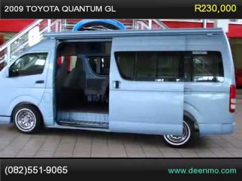 2009 toyota quantum gl youtube