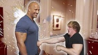 THERE'S A REASON THEY CALL HIM THE ROCK! Feat  Dwayne Johnson