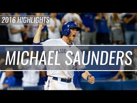 Michael Saunders - Toronto Blue Jays - 2016 Highlight Mix HD
