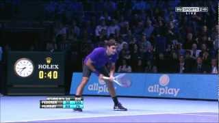 Atp World Tour Finals 2012 - Federer vs Murray SF (HD)