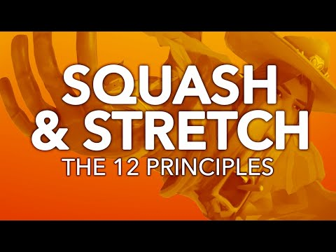 SQUASH & STRETCH - The 12 Principles of Animation in Games