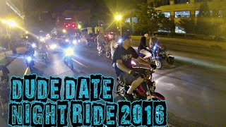 DUDE DATE 2016 - NIGHT HOOD RIDE & SKATE PARK - 50CC, GROM, PIT BIKE STUNT RIDING - LOUISVILLE, KY