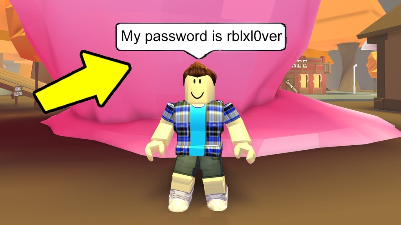 all roblox players passwords
