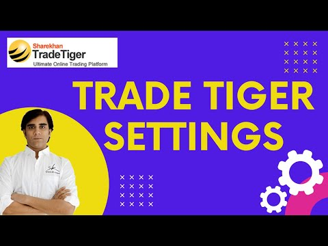 Configure User and Graph Setting for TradeTiger 🔥 - YouTube