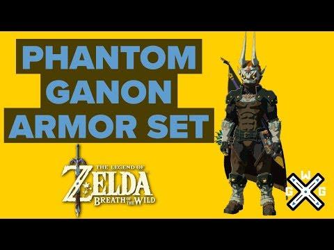 Phantom Ganon Armor Location - EX Treasure: Dark Armor Walkthrough - Zelda: Breath Of The Wild