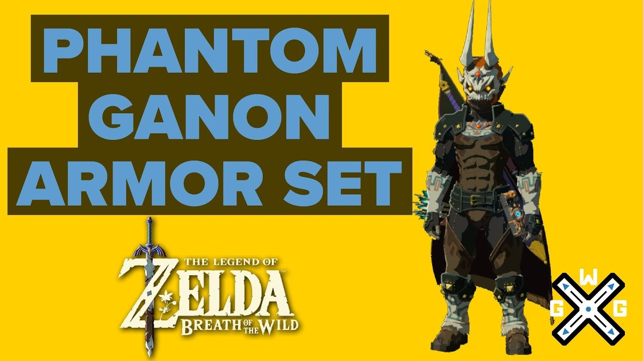 Phantom Ganon Armor Location Ex Treasure Dark Armor Walkthrough Zelda Breath Of The Wild