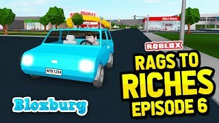 BUYING A NEW CAR - Bloxburg Rags to Riches #6