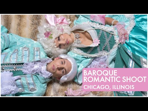 Eva Navoloska in Baroque Styled Shoot in Chicago, IL