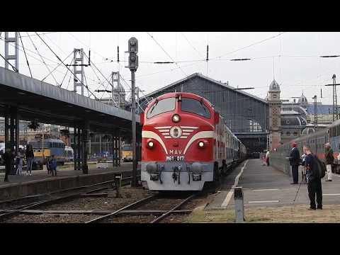 A 017-es Nohab indul a Golden Eagle Danube Express-el Teheránba [HD]