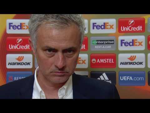 Jose Mourinho po finale Ligi Europy UEFA || Wywiad || Piłka nożna