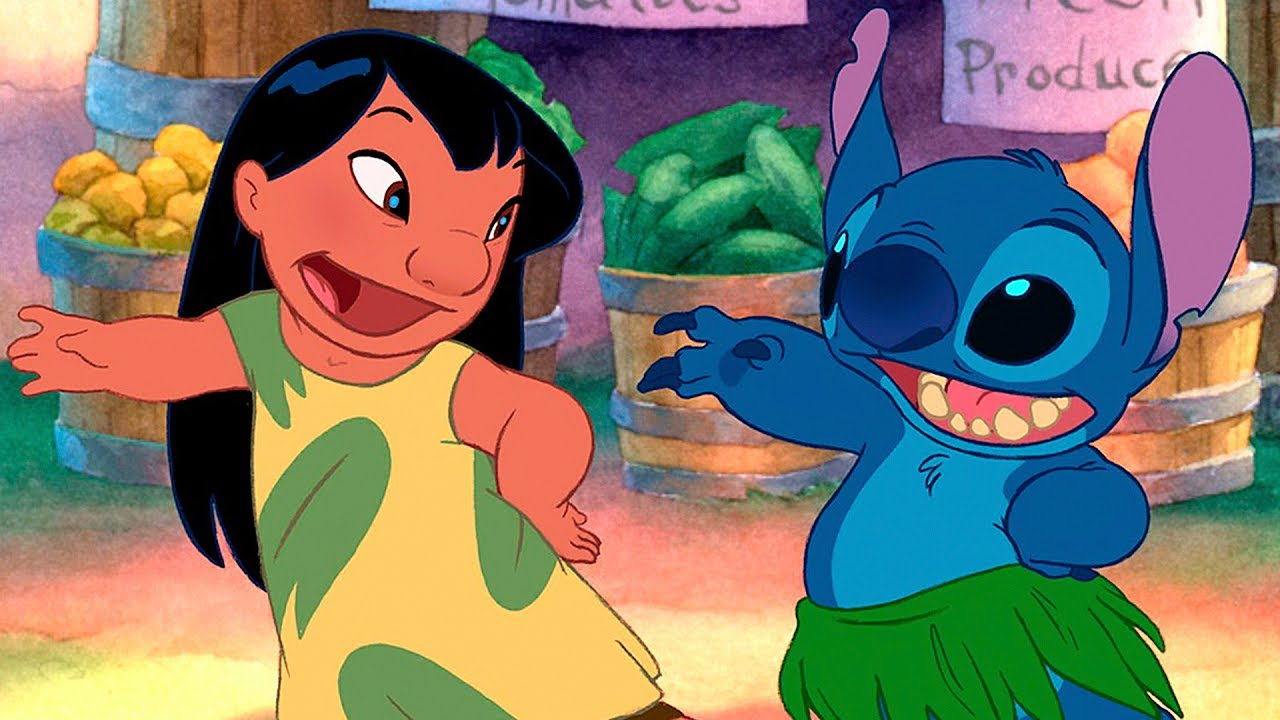 It's just a picture of Punchy Lilo & Stitch Images