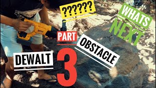 The trail to the treasure. Part 3 Removal of obstacle