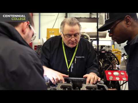 Centennial College: Truck and Coach Technician - (Co-op Apprenticeship)
