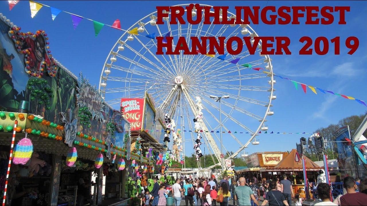 Frühlingsfest Hannover 2019: Rundgang mit allen Top
