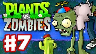 Video Plants vs. Zombies - Gameplay Walkthrough Part 7 - World 4 (HD) download MP3, 3GP, MP4, WEBM, AVI, FLV April 2018