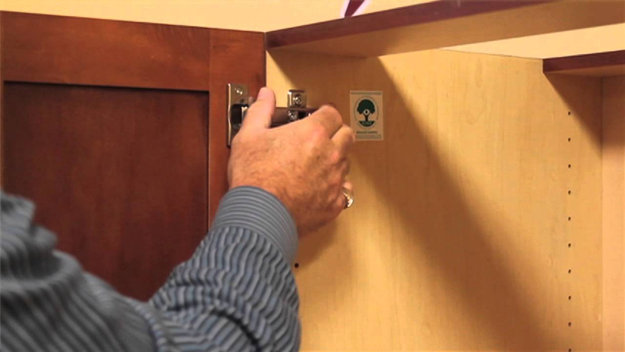 How To Remove Your Cabinet Doors In 60 Seconds - YouTube