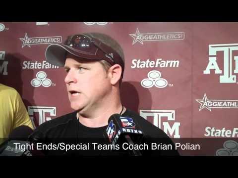 A&M Special Teams Coach Brian Polian