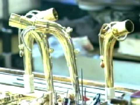 Production of brasswind instruments Amati