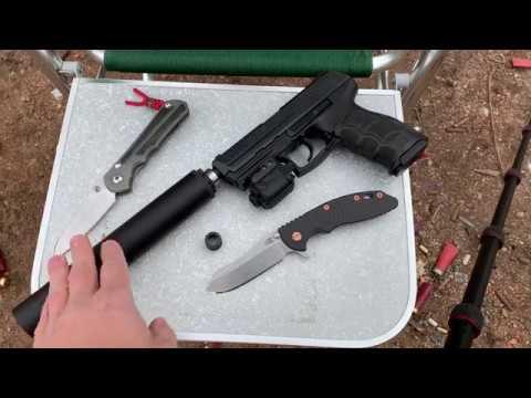 Suppressor Shooting Demo:  SIG 516 / HK P30 / Ruger 10/22 / S&W Model 41